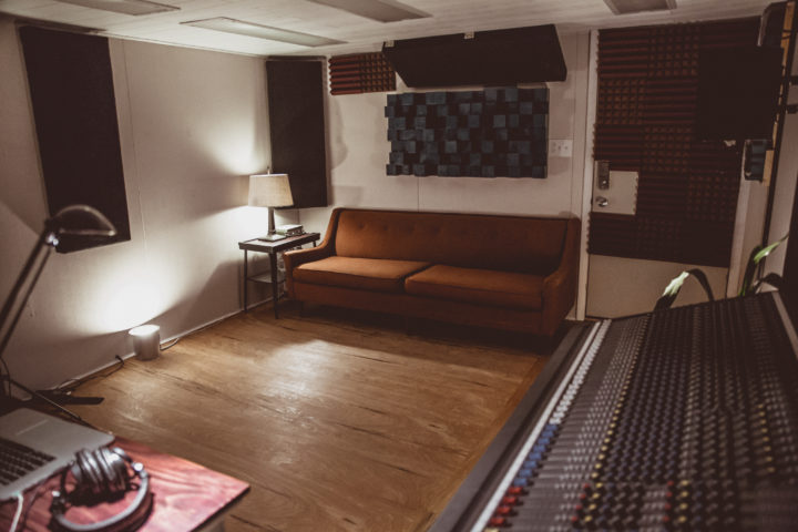 Music Production Room - couch area
