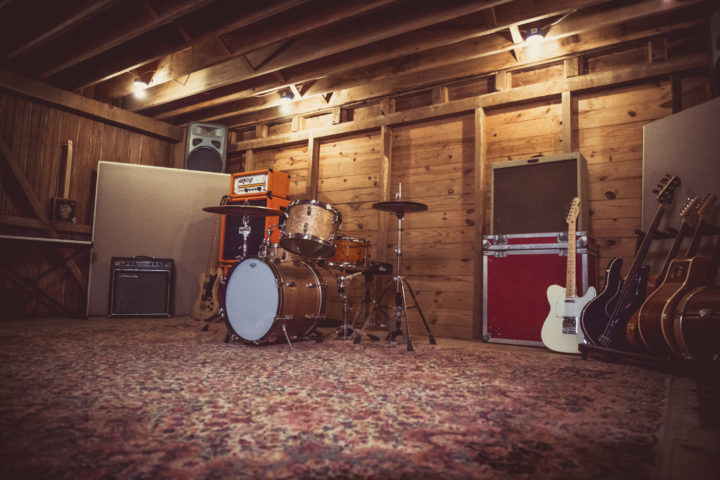 Recording Studio - A shot of our live recording room