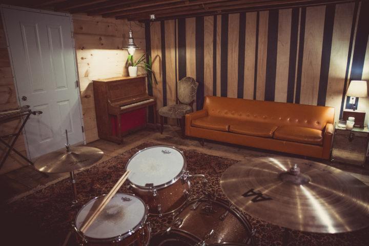 Recording Studio - The lounge area